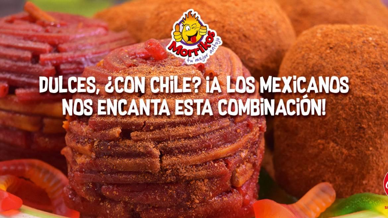 Dulces, ¿con chile? ¡A los mexicanos nos encanta esta combinación!