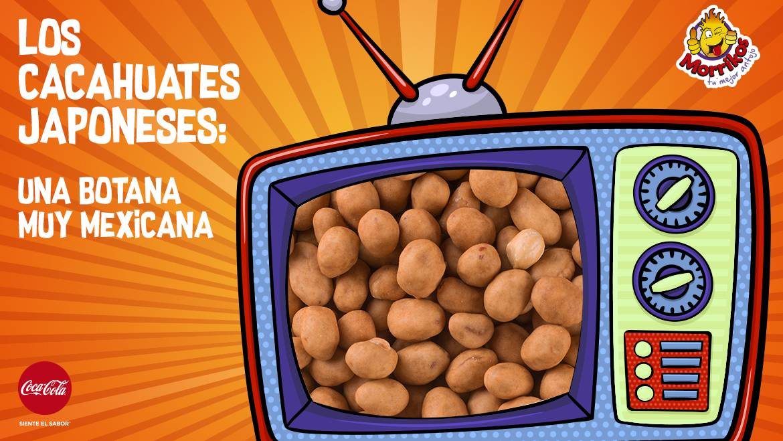 Los cacahuates japoneses: una botana muy mexicana