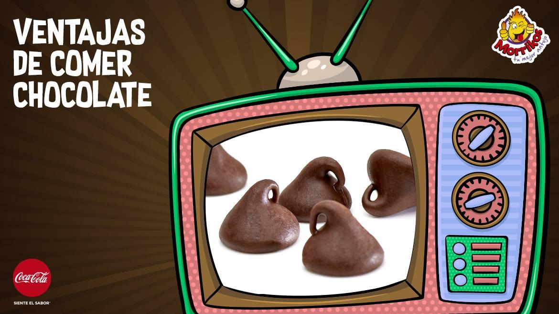 Ventajas de comer chocolate
