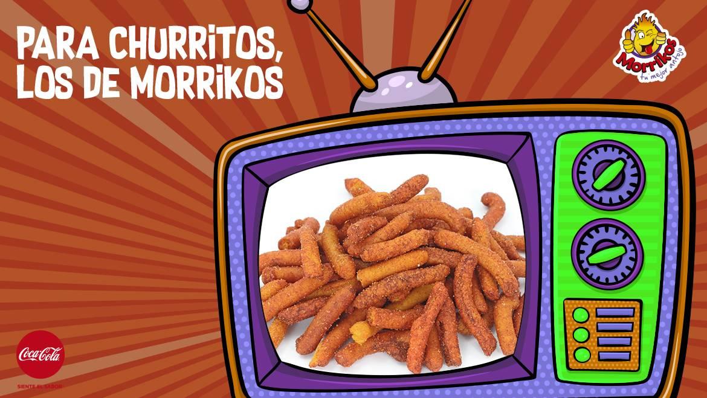 Para churritos, los de Morrikos