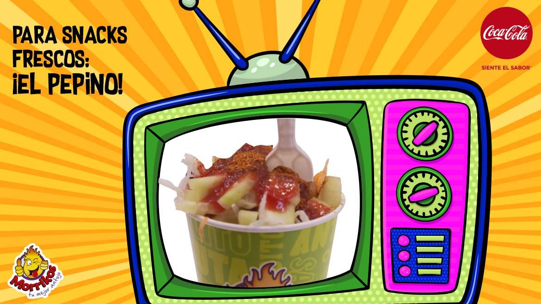 Para snacks frescos: ¡el pepino!